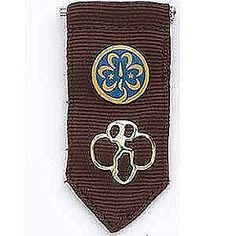 Girl Scout Brownie Insignia Tab. $2.50