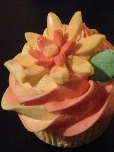 Grapefruit Orange Cupcake Bath Bombs, Grapefruit, Orange, Rose, Sweet, Flowers, Plants, Candy, Pink