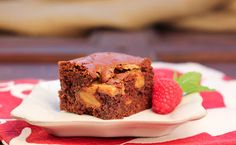 Dulce de Leche Brownies...Holiday Recipe Club~ - That Skinny Chick Can Bake