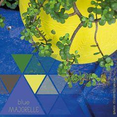 #color #azul #majorelle #colour #blue #couleur #bleue