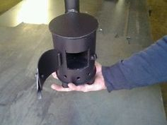 The 'Gypsy' Van Stove - http://dunway.us/kindle/html/frugal1.html