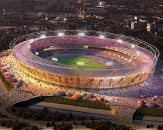 Olympic Stadium, London, 2012