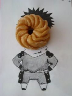 that doughnut is probably more dence than that cursed mask Obito wears!