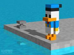 Google Afbeeldingen resultaat voor http://cecinestpasdelart.files.wordpress.com/2009/10/3d-pixel-art-voxels_donald-duck-cubic-cubistic-cubism-kubistisch-450x337.jpg