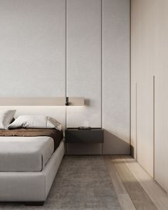 Bedroom #bedroom #modernbedroom #minimalisticbedroom #ideasforbedroom #minimalism #minimalisticarchitecture #minimalisticinterior #architecture #modernarchitecture #design #minimalisticdesign Moon Palace, Dressing Room, Minimalism, Bedroom, Interior, Furniture, Design, Villa, Home Decor