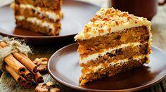 Recept na výborný dezert z mrkve a vlašských ořechů. Easy Cake Recipes, Wine Recipes, Baking Recipes, Carrot Recipes, Dessert Recipes, Granola, Moist Carrot Cakes, Moist Cakes, Food Cakes