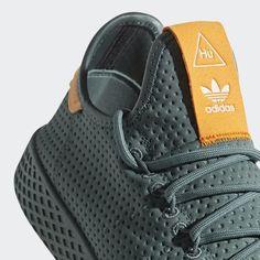 498304152 adidas Pharrell Williams Tennis Hu Shoes - Green - Women  s Originals - Raw
