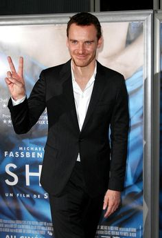 Michael Fassbender attends the premiere of his latest film 'Shame' . - 'Shame' Premieres in Paris
