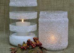jak si doma vyrobit svícen z potravinářské soli a lepidla