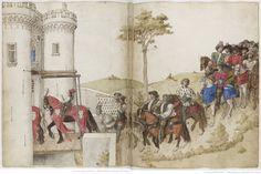 Traittié de la forme et devis comme on fait les tournois », par « RENE D'ANJOU ». Ca 1460