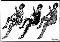 Marian Lupu LUPINO #graphics Graphics, Black, Graphic Design, Black People, Printmaking