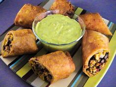 Top Secret Recipes | Chili's Southwestern Eggrolls Recipe with Avocado Ranch