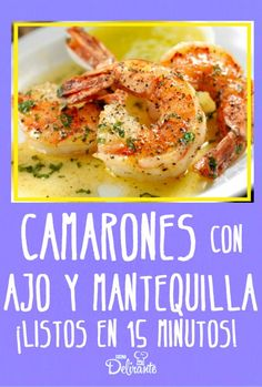 Baked Shrimp Recipes, Shrimp Recipes For Dinner, Seafood Recipes, Mexican Food Recipes, Italian Recipes, Cooking Recipes, Healthy Recipes, Lobster Dishes, Seafood Dishes