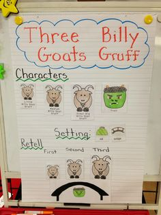 Three Billy Goats Gruff activities and Lots of FREEBIES to go with the story!