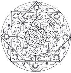 Mandala 2 July 2013 By Artwyrd Deviantart Com On