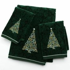 Decorative Hand Towel With Beaded Trim For Your Powder