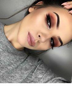 Make-up for brown eyes - MakeUp Inspiration & Brands - . - Pinspace Make-up for brown eyes - MakeUp Inspiration & Brands - # . Glam Makeup, Cute Makeup, Skin Makeup, Eyeshadow Makeup, Eyeshadows, Sephora Makeup, Drugstore Makeup, Awesome Makeup, Easy Makeup