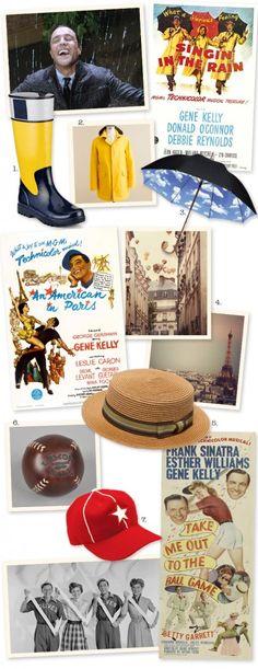 Gene Kelly - inspired