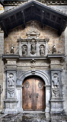 Capilla real, Catedral de Granada / Door to Royal Chapel. Granada, Spain