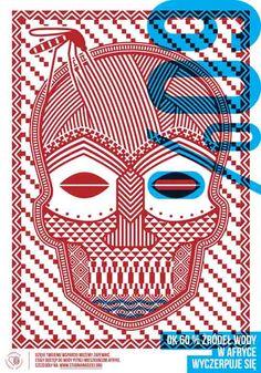 PREMIO DEBUT DE ORO. Lukasz Kowalski | 24º Bienal Internacional del Cartel de Varsovia. International Poster Biennale in Warsaw.
