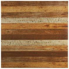 "Found it at Wayfair - Canadia 17.75"" x 17.75"" Ceramic Wood Look Tile in Natural"