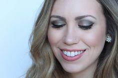 Soft Emerald Green Eye Makeup   Neutral Lip   Beauty Tutorial   Holiday