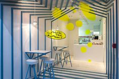 Milk Tea & Pearl at Boxpark by Atelier Y A O, London – UK » Retail Design Blog