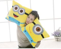 Find More Movies & TV Information about 40 cm Lovely Minion Despicable Me 2 Eyes Yellow Movie Doll Plush Kids Children Birthday Gift for Girls Free Shipping,High Quality children gift items,China gifts for movie lovers Suppliers, Cheap child birthday gift from party  Queen Fashion Store on Aliexpress.com