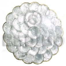 Capiz shell handmade decorative item and tableware - Cebu wholesale jewelry and fashion accessories bulk philippine export handmade products Handmade Decorative Items, Decorative Plates, Capiz Shell Chandelier, Handmade Jewelry, Handmade Gifts, Handmade Products, Seashell Jewelry, Shell Necklaces, Corporate Gifts