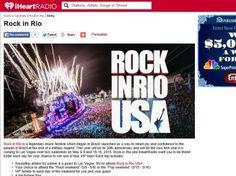 iHeartRadio Rock In Rio Flyaway Sweepstakes