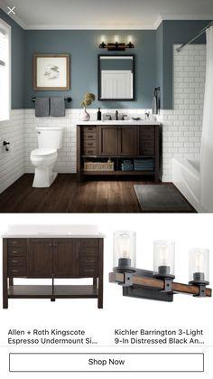 Bathroom Plans, Lowes Home Improvements, My Dream Home, Beautiful Homes, New Homes, Sweet Home, Interior Design, Bath Room, Bathroom