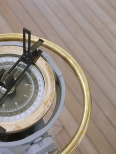 Navigational Compass on Deck of Sailboat Photographic Print by Jack Hollingsworth at Art.com