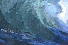 """""""Ola 01"""" / Pintura en medio informático./ Copias impresas con la firma original del autor/ Tamaños:/ A5…10 € / A4…15 € / A3…25 €./ más gastos de envío./ Pedidos a albertotroconiz@mac.com"""