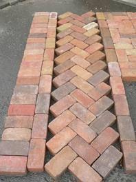 OLD VILLA STYLE BRICKS (x 50 Bricks)
