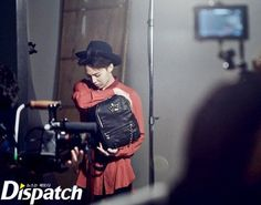 G-Dragon for J. Estina Behind the Scene