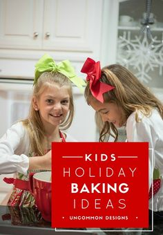 Holiday baking with the kids has never been easier!  Surprise your children with an afternoon baking something easy and delicious.    Uncommon Designs #BakingwithBetty #ad