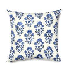 Shop the Santorini Block Print Indoor/Outdoor Throw Pillow at Perigold, home to the design world's best furnishings for every style and space. Chinoiserie, Caitlin Wilson Design, Greek Blue, Pillows Online, Blue Pillows, Outdoor Throw Pillows, Decorative Pillow Covers, Custom Pillows, Decoration