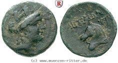 RITTER Kilikien, Aigeai, Tyche, Pferd #coins