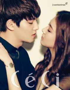 'We Got Married' Couple Jonghyun And Gong Seung Yeon in Ceci Korea Cnblue Jonghyun, Lee Jong Hyun Cnblue, Jung Hyun, Lee Jung, Gong Seung Yeon, We Got Married Couples, We Get Married, Wgm Couples, Cute Couples
