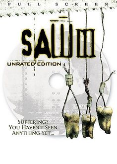 Saw III (DVD, 2007, Unrated Full Screen) in DVDs & Movies, DVDs & Blu-ray Discs | eBay