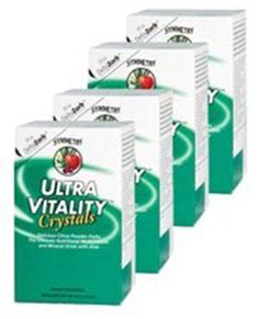 Symmetry's Ultra Vitality Four Packs Crystals Multivitamin/Mineral Supplement #SymmetryGlobal