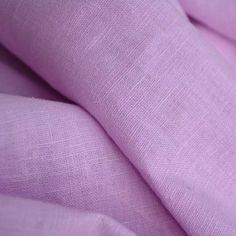 100% Leinen Stoff aus Frankreich mit weichem Griff - Pink (Zuckermandel rosa) - Breite: 137 cm (Meterware): Amazon.de: Küche & Haushalt