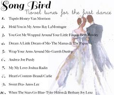 Melody For Two - unconventional first dance songs