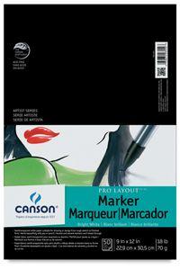 Marker Paper, 50-Sheet Pad