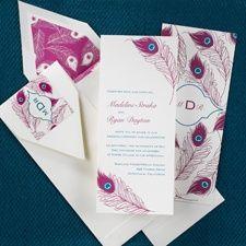 Brilliance - Invitation #glamourwedding #confetticonnection
