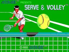 Missed Throwback Thursday? Here is one for you: Serve and Volley - http://www.pixelships.com/adg/ep0008.html