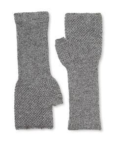 Hikaru Noguschi Moss Stitch FIngerless Long Gloves