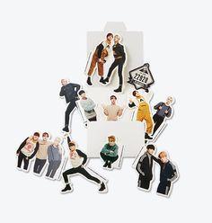 BTS Official MD Sticker Set http://kpopmerchandiseworld.com/product/bts-official-md-sticker-set http://kpopmerchandiseworld.com/artist/bangtan-boys-merchandise