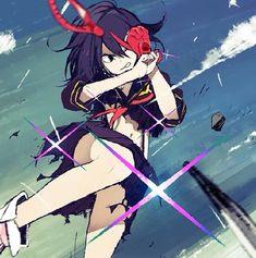 Fanart Manga, Manga Art, Anime Art, Kill La Kill Cosplay, Kill A Kill, Gurren Laggan, Comic Games, Best Waifu, All Anime
