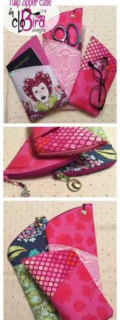 One of my favorite free bag sewing patterns. Everyone I give this too loves it. So very useful. I;ve even started selling them too - they sell well and don't use much fabric to make.